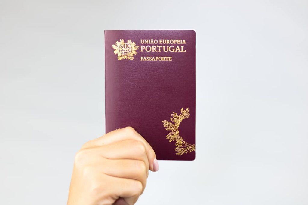 דרכון פורטוגלי נחשק - עו