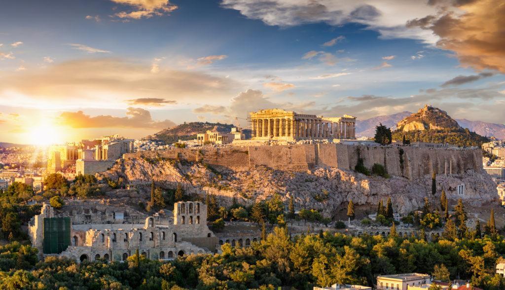 נוף של יוון - עו