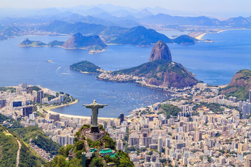 דרום אמריקה נוסף של פסל הגואל - עו